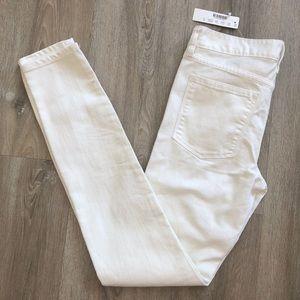 [NWT] J Crew midrise toothpick jeans